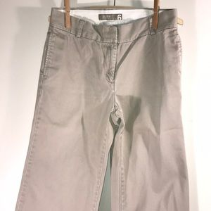 Pants - J. Crew wide legged chinos